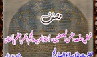 Sawaneh Ghaus e Azam By Faiz Ahmad Owaisi Pdf