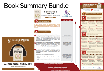 The Obstacle is the Way summary_Book Summary Bundle