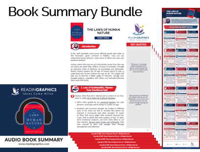 The Laws of Human Nature summary_Book Summary Bundle