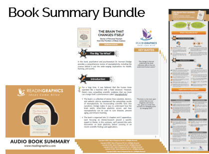 The Brain that Changes Itself summary - Book Summary Bundle