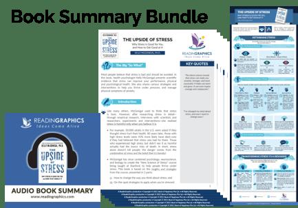 The Upside of Stress summary - Book Summary Bundle