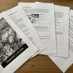 Vlad and the Great Fire of London Teacher's Guide