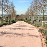 Cycling the Anillo Verde - Madrid