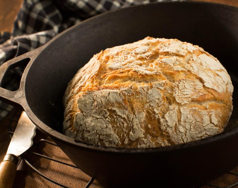 Cast Iron Bread Recipe - Readings by Chrissy