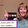 3 Step Lesson Plan For Brand New Readers Reading Simplified