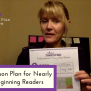 3 Step Lesson Plan For Nearly New Beginning Readers