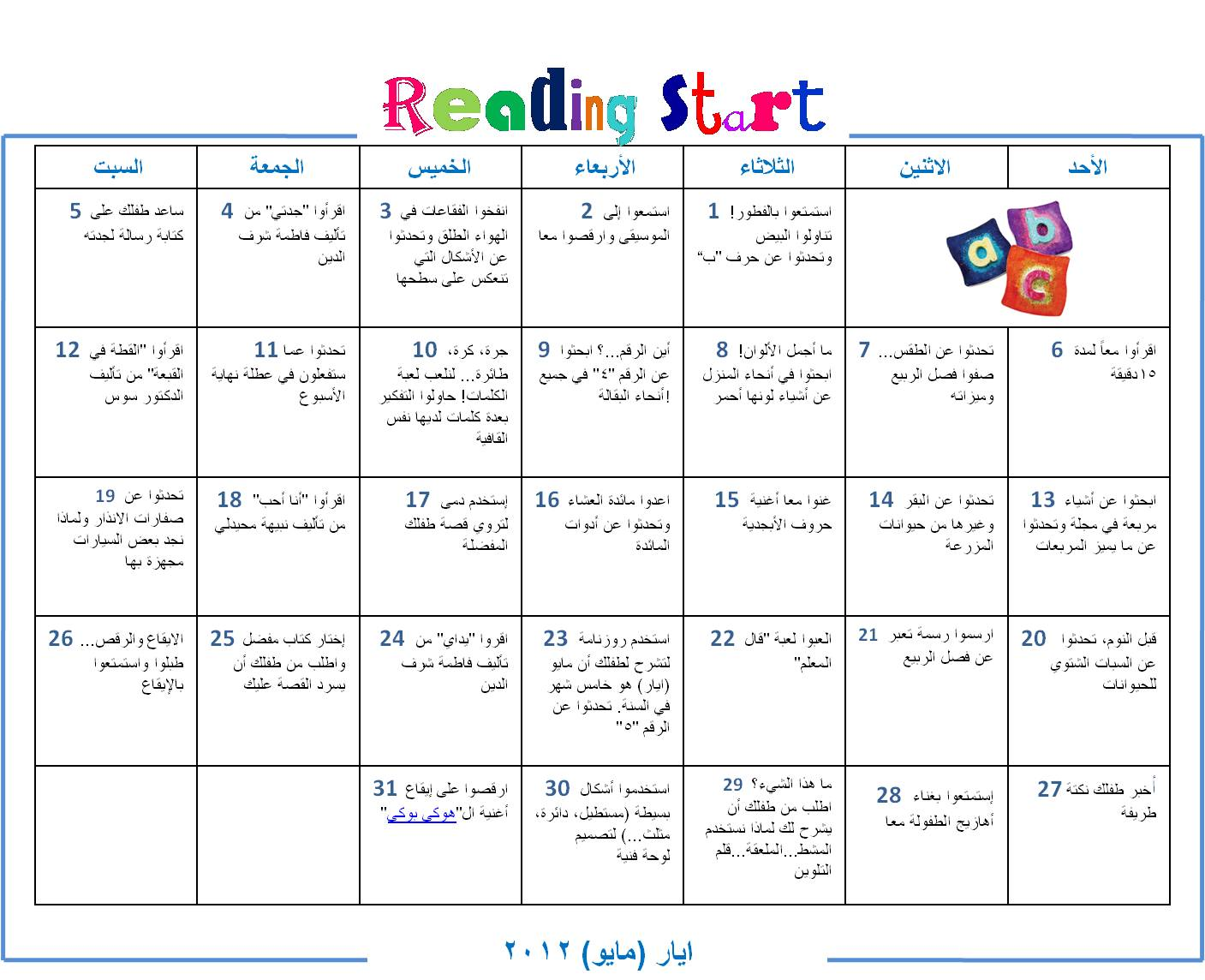 Literacy Resources In Arabic And English