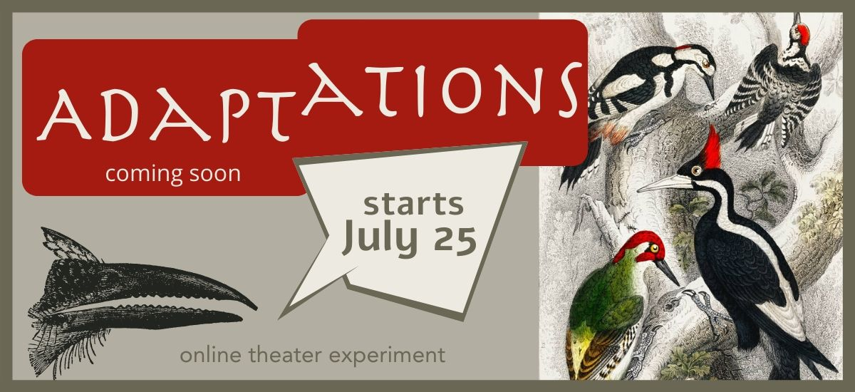 Adaptations: an online theater experiment