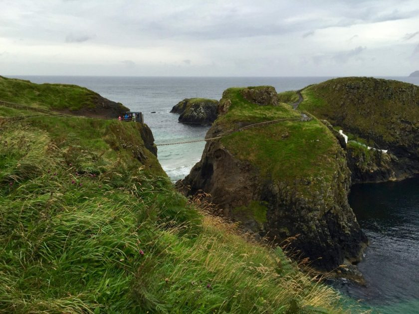 Ulster travel: Carrick-a-rede Rope Bridge, Co Antrim