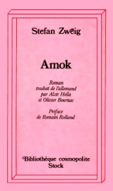 Stefan Zweig Amok Stock