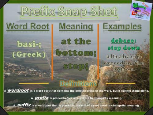 basi-prefix-snap-shot