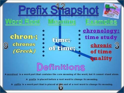 chron- Prefix Snapshot