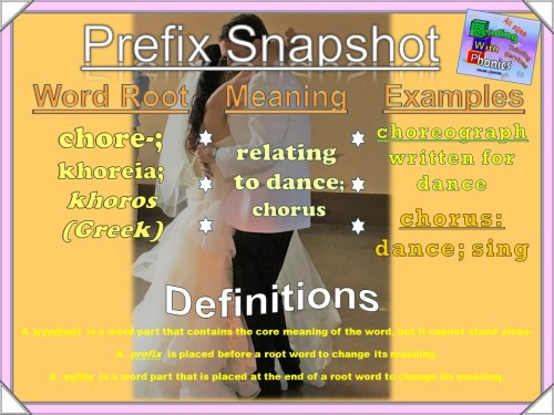 chore- Prefix Snapshot