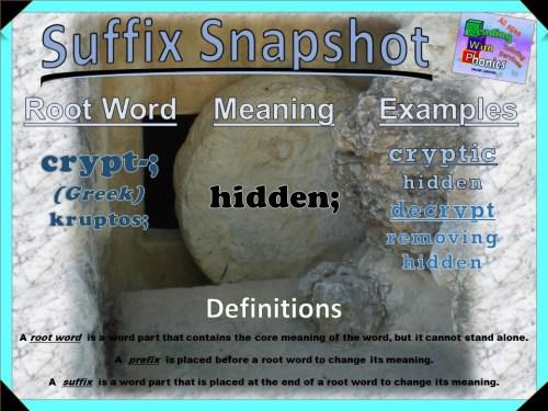 crypt- Prefix Snapshot
