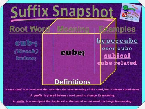 cub- Prefix Snapshot