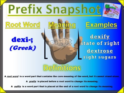 dexi- Prefix Snapshot