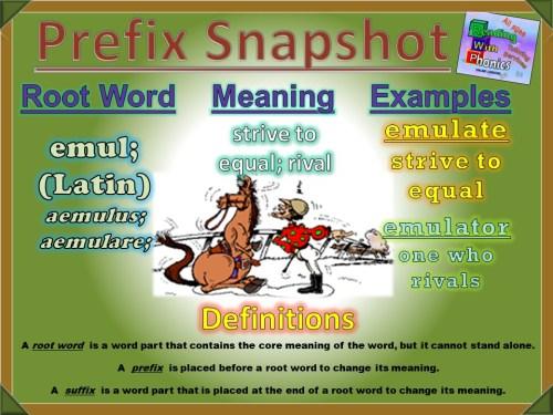 emul- Prefix Snapshot