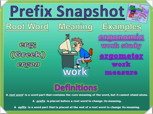 erg- Prefix Snapshot