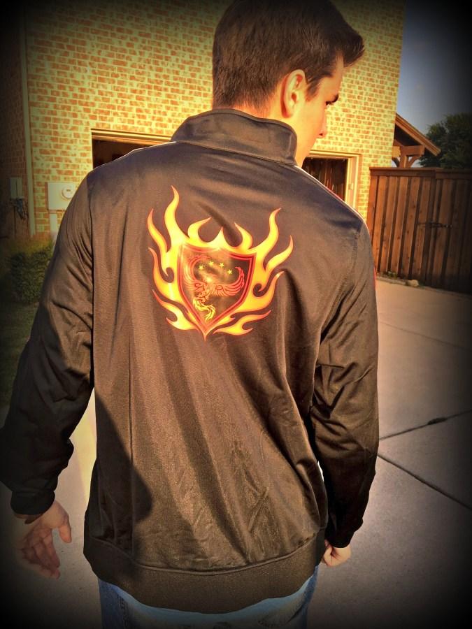 Marked Jacket Back