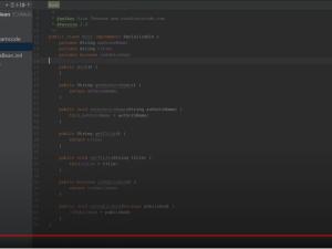 Java bean introduction video
