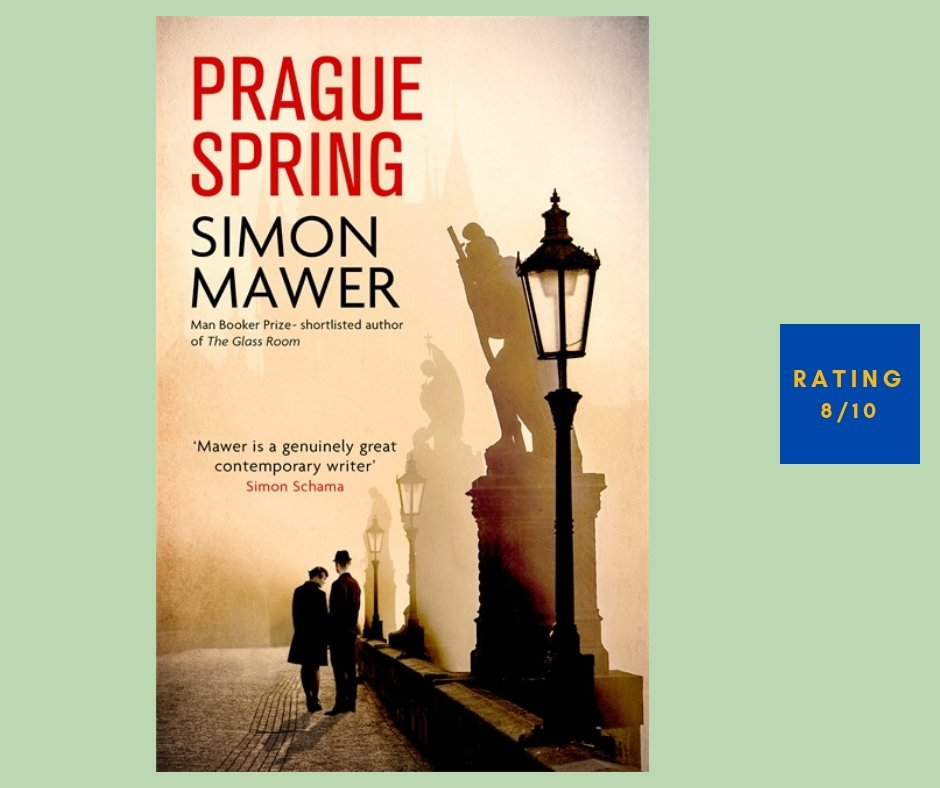 Simon Mawer Prague Spring review
