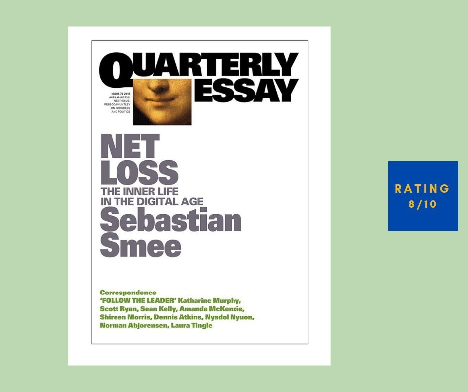 Sebastian Smee Net Loss Quarterly Essay 72 review