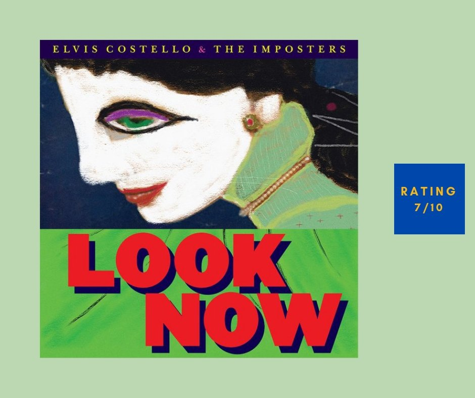Elvis Costello Look Now review