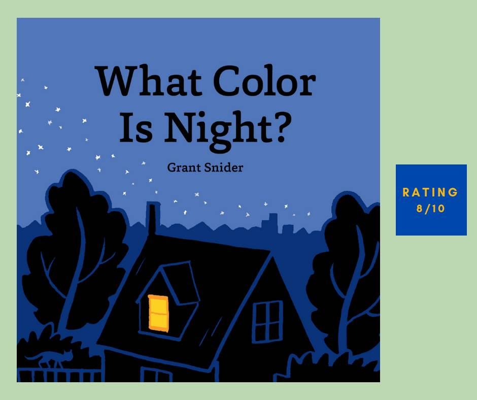 Grant Snider What Color Is Night review