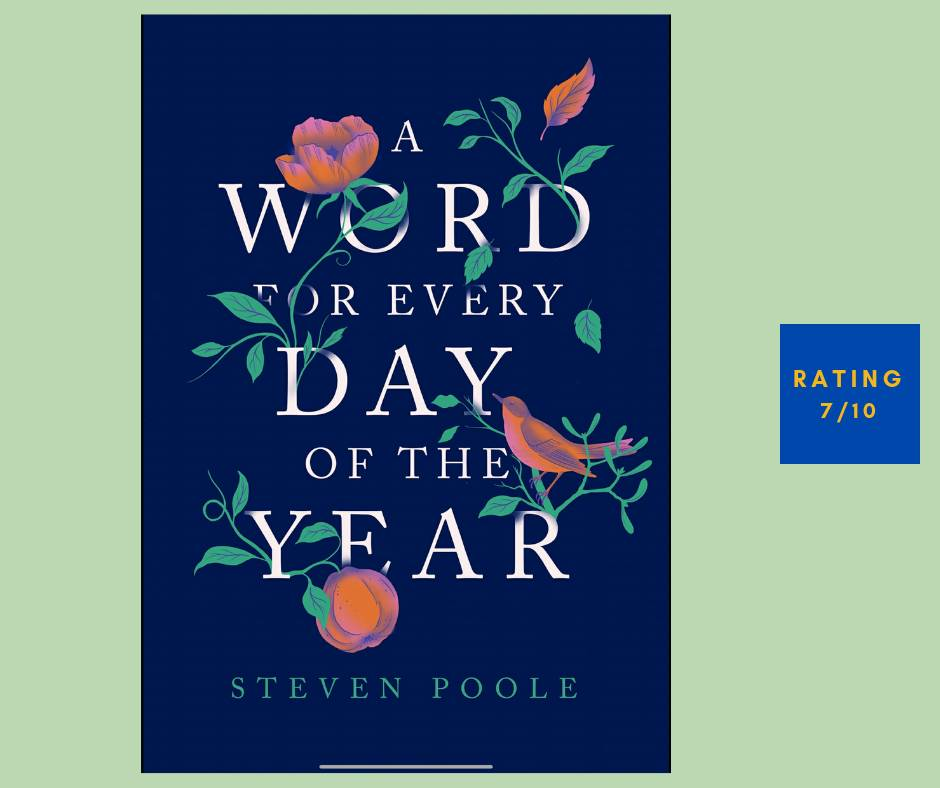 Steven Poole A Word for Every Day of the Year review