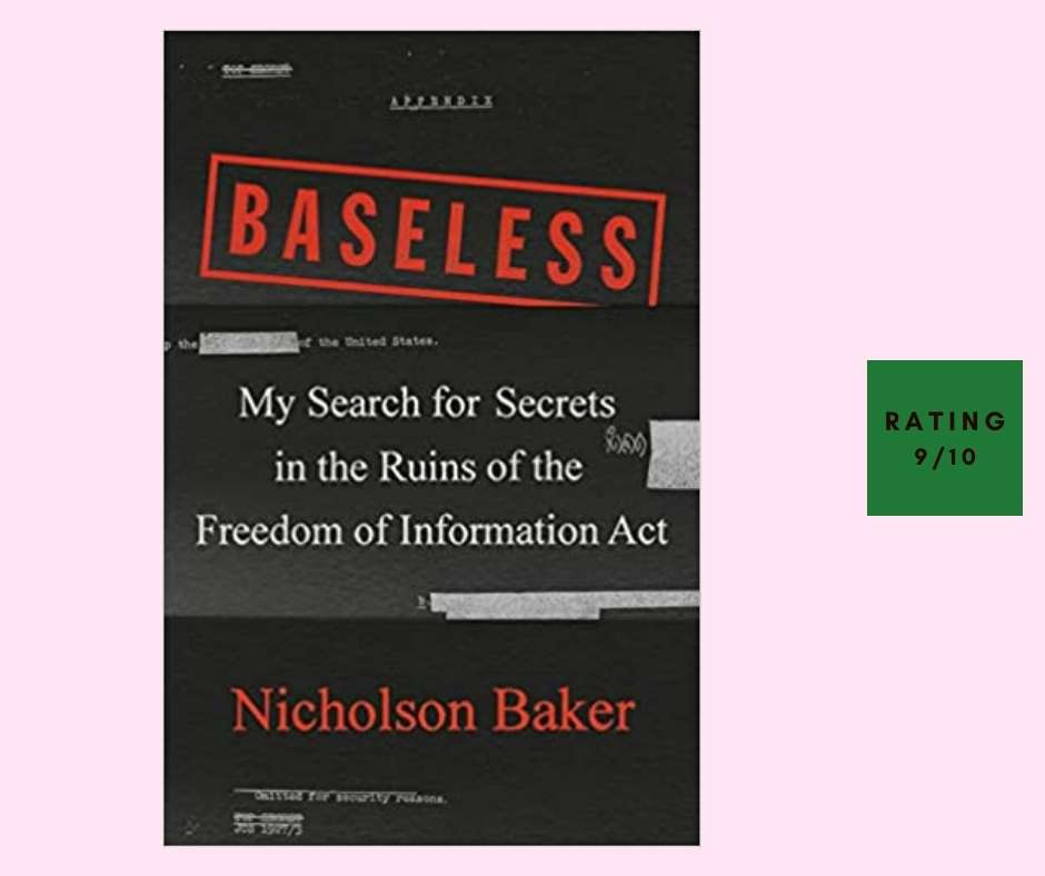 Nicholson Baker Baseless review