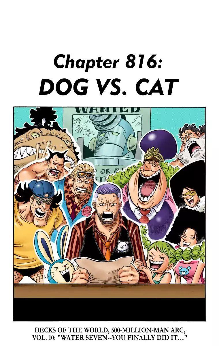 One Piece Episode 816 : piece, episode, Piece, Digital, Colored, Comics, Manga, Chapter