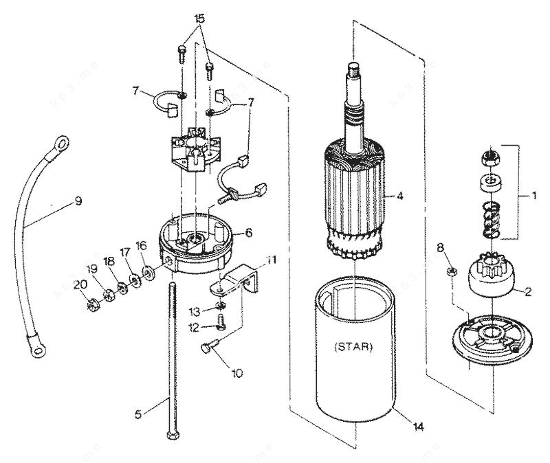 Johnson Outboard Wire Diagram 84, Johnson, Free Engine