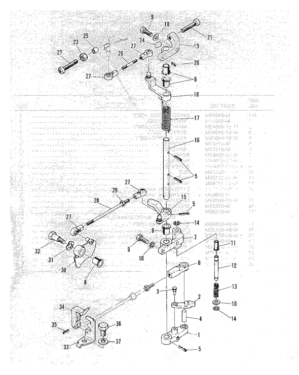 Mercury Quicksilver Controls Parts Diagram, Mercury, Free