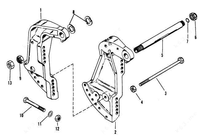 Mercury Outboard Manual Tilt