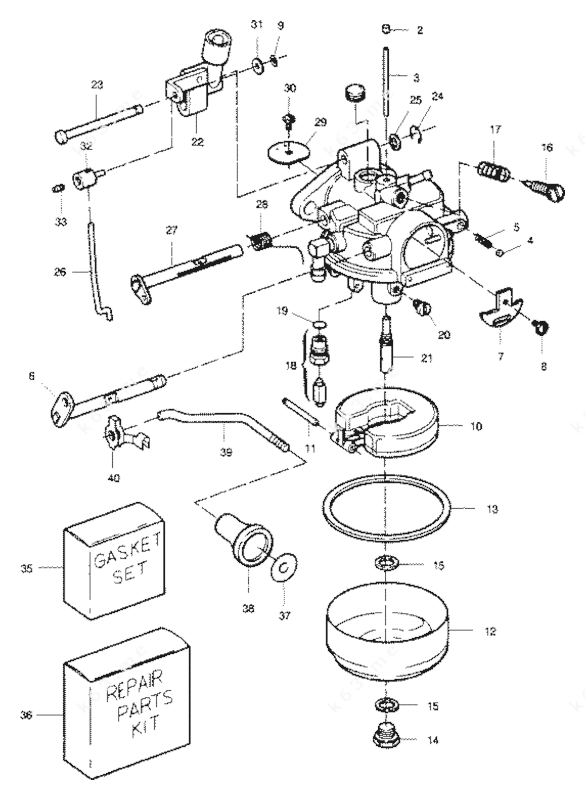 15 Hp Mercury Outboard Carburetor. Mercury. Wiring Diagram