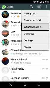 How to use WhatsApp Web