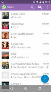 Whatsapp+ material themes