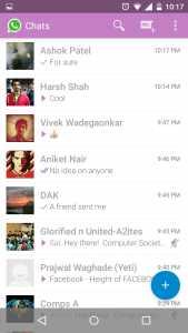 Whatsapp plus material theme