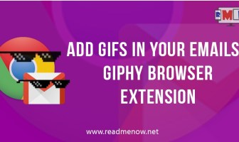 Add gifs using giphy