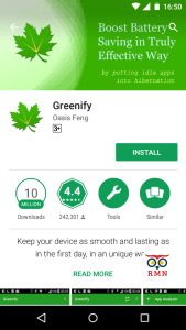 Greenify to prevent phone overheating