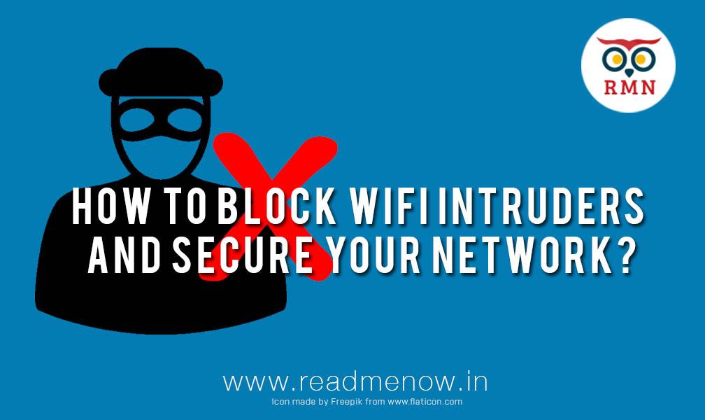 block WiFi intruders