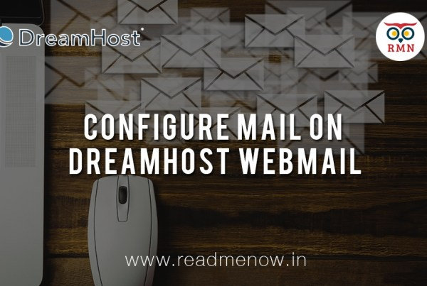Configure Mail on Dreamhost Webmail