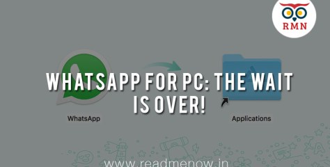 Whatsapp for PC: The Wait is Over