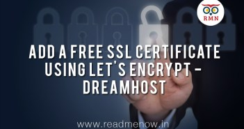 Free SSL Certificate using Let's Encrypt – Dreamhost