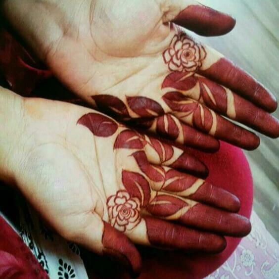 7. Arabisches Tattoo Mehndi Design - Neue arabische Mehndi Designs 2019