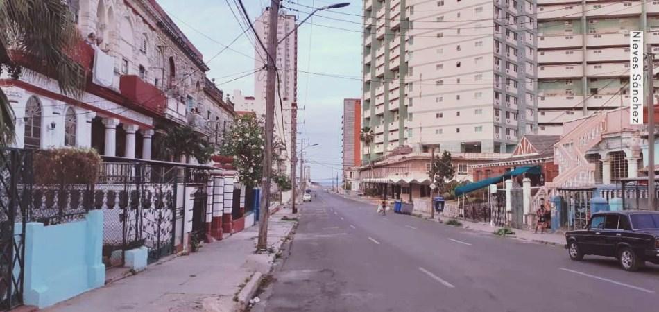 Barrio El Vedado de Cuba