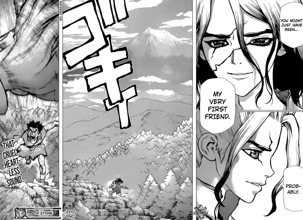 Dr. Stone : Chapter 10 - The Science Crew image 016