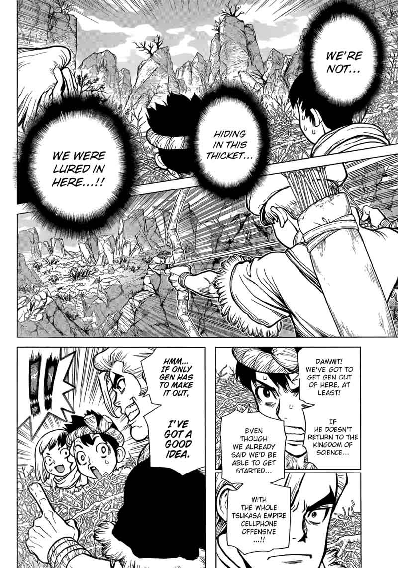 Dr. Stone : Chapter 65 - Phone Call from Dead Man image 010