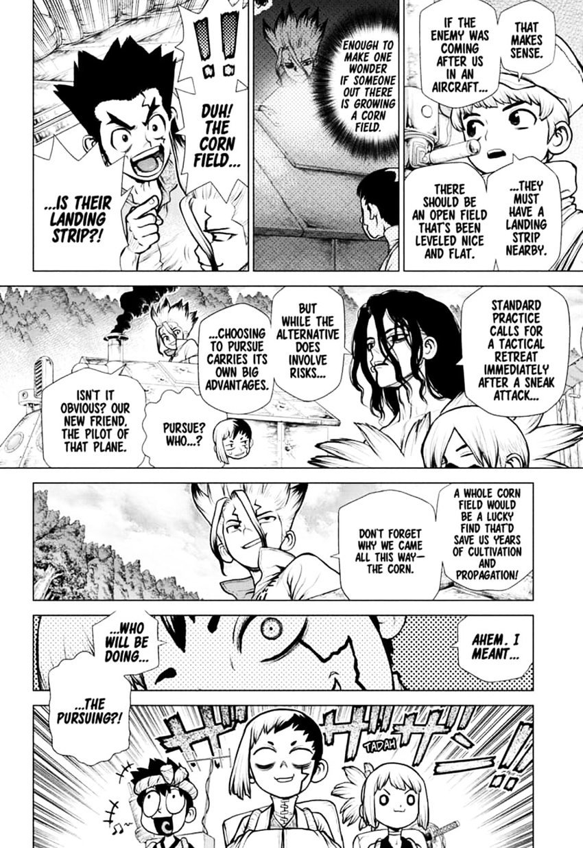 Dr. Stone : Chapter 151 - Dr. X image 002