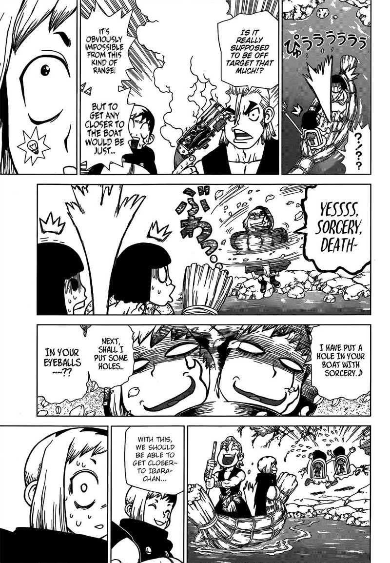 Dr. Stone : Chapter 128 - All-Out Battle Royal image 007